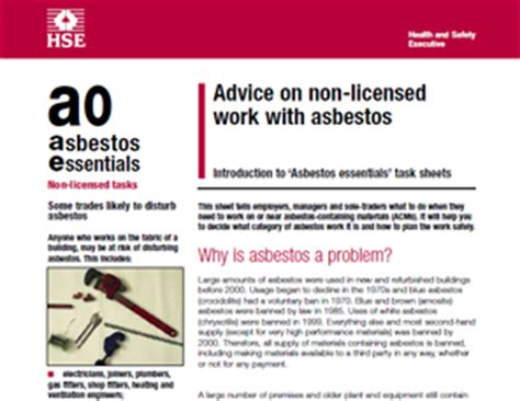 rubbish clearance asbestos information