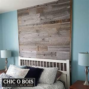 chambre avec mur en bois With mur de chambre en bois