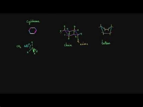 Chair Conformation Flip Khan Academy by Conformations Chaise Et Bateau Du Cyclohexane Vid 233 O