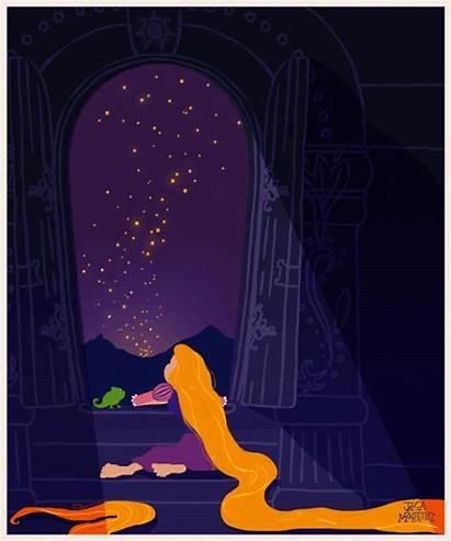 Disney Princess Gifs Animated Behance Rapunzel Tangled