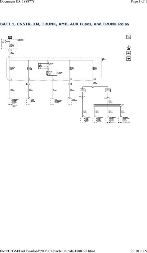 Wiring Schematic 2007 Impala by Repair Guides Wiring Systems And Power Management