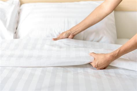 Bed Settings by Hotel Bed Tips Crown Hospitality Linen Services