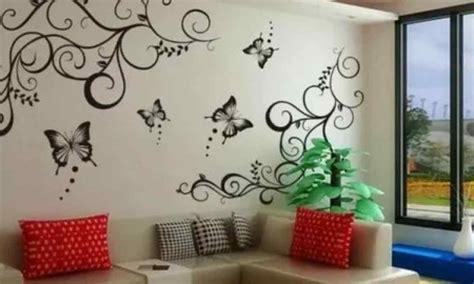 Візерунки на стіну своїми руками - прості, красиві: трафарети