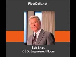 bob shaw With engineered floors bob shaw