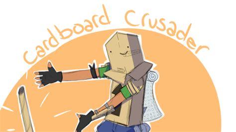 cardboard crusader skin concept  hilarious