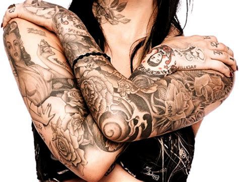 Are Women With Tattoos Ugly By Sinead Powers The