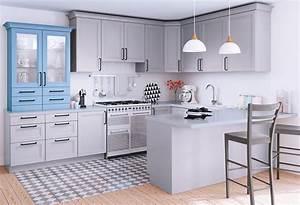 Plan De Travail Cuisine Bricomarché : plan de travail gris 10 id es pour votre cuisine blog but ~ Melissatoandfro.com Idées de Décoration