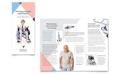 medical health care brochures flyers word