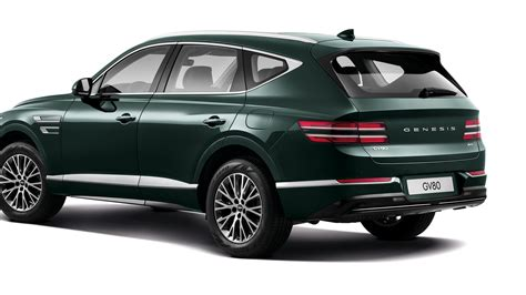 2021 Genesis GV80 luxury SUV can learn your driving style ...