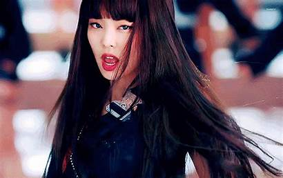 Jennie Blackpink Bangs Hair Straight Headband Korean