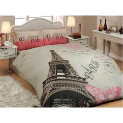 100 cotton twin eiffel tower paris bedding duvet cover pillow case ebay