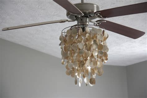 diy ceiling fan chandelier combo house tweaking