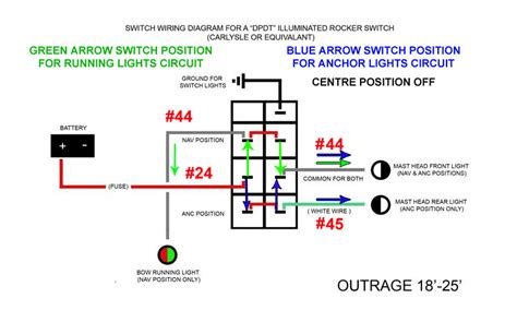 navanchor light switch connection  pic page   hull truth boating  fishing forum