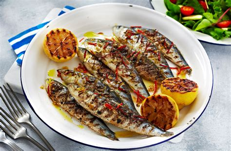 grilled sardines sardine recipes tesco food