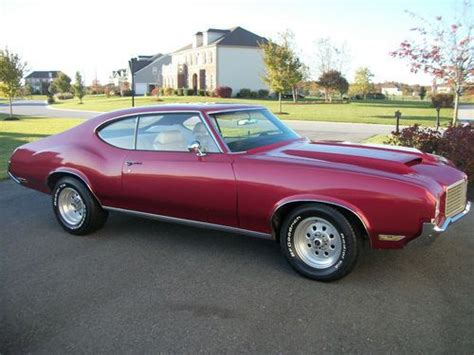 purchase used 1971 oldsmobile cutlass classic american