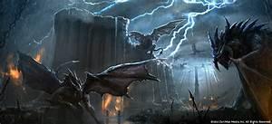 Daedric Titan Monster – TESO Concept Art Elder Scrolls