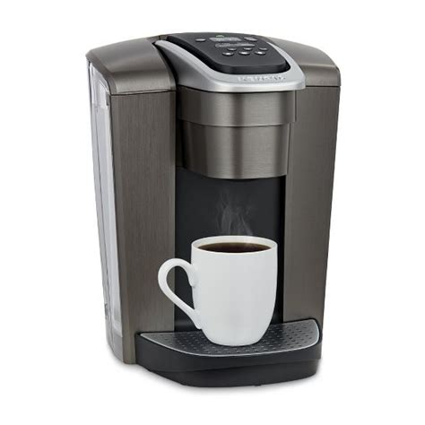 This is one very easy and convenient machine to use and has a huge water reservoir. Keurig K-Elite Single-Serve K-Cup Pod Coffee Maker with Iced Coffee Setting - Gold (With images ...