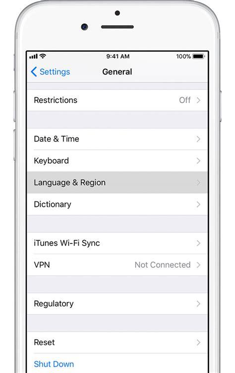 19883 how to change language on iphone 4 de taal wijzigen op een iphone of ipod touch apple 19883
