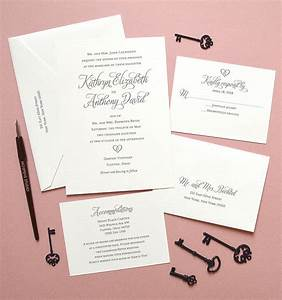 Heart letterpress invitation suite mospens studio for Letterpress wedding invitations usa