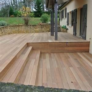 Terrasse Bois Exotique : tecnhome terrasse bois exotique bankirai 70m2 pange ~ Melissatoandfro.com Idées de Décoration