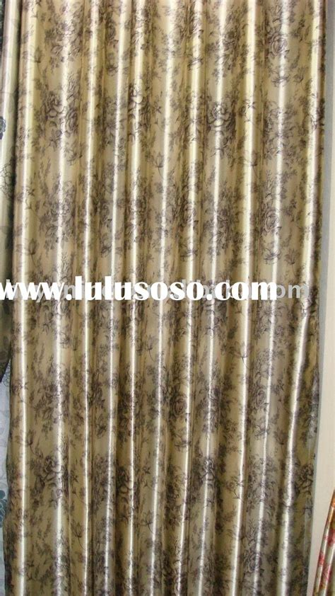 embossed hotel blackout window curtain fabric for sale