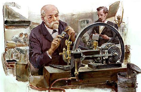 Gottlieb Daimler (links) Und Wilhelm Maybach