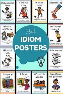 Idiom Posters English Writing Skills English Idioms
