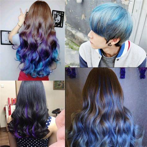 colors unisex diy hair color wax mud disposable