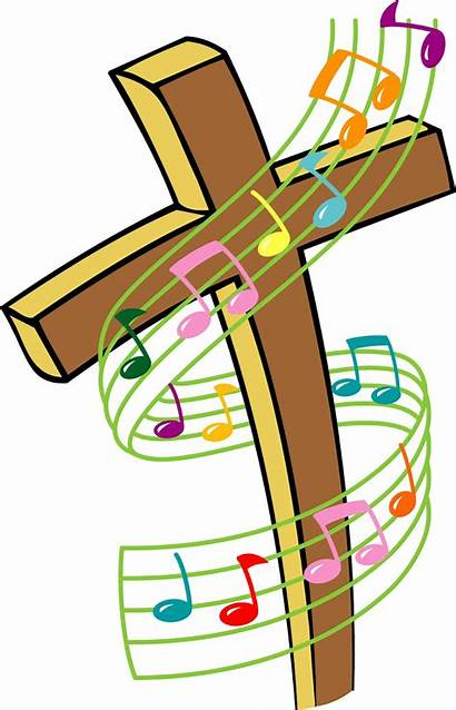 Christian Songs Pals Clip Gals Singing Cross