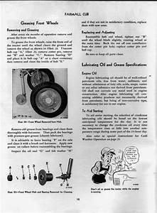 Installing Front Axle Bearing Kit 1948 Cub