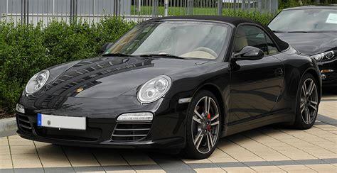 Fileporsche 911 Cabriolet Black Edition 997 Facelift