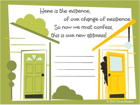 we moved cards template free moving cards tip junkie
