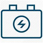Power Dc Ups Supplies Icon Battery