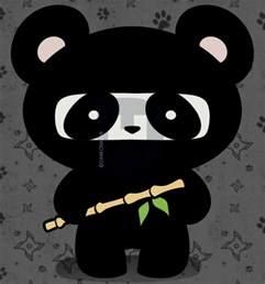 Cute Cartoon Ninja Panda