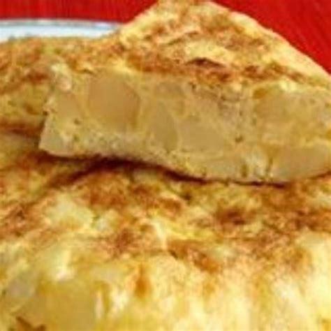 cuisine espagnole recette recette tortilla espagnole facile