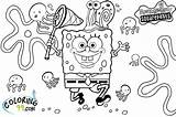 Coloring Spongebob Squarepants Pages Printable Nickelodeon Games Christmas Lot Getcoloringpages Colors sketch template