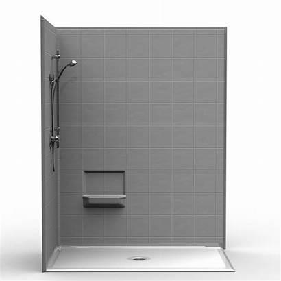 Shower Corner Roll Drain Center Piece Threshold