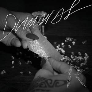 Rihanna Rolls Diamond Joint for Song Cover Art - Weedist