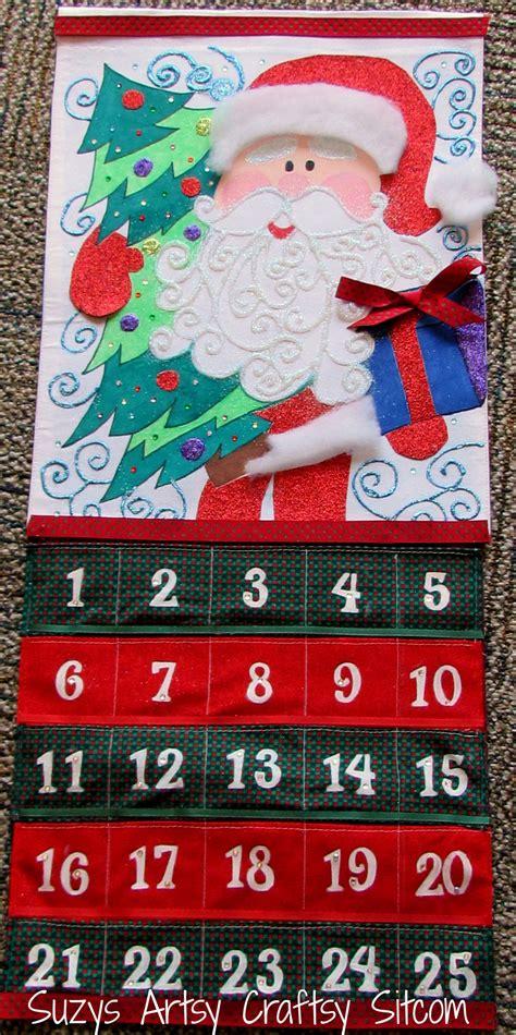 Holiday Santa Advent Calendar (free Pattern