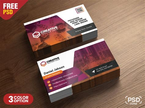 corporate business card designs psd psd zone
