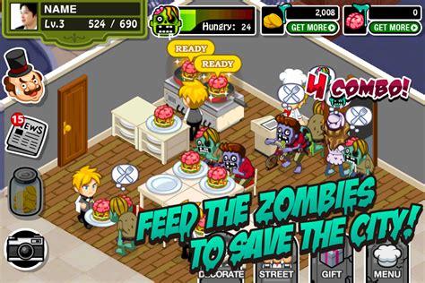 zombie restaurant iphone ipad ifreeware game games zombies purple screenshots ios