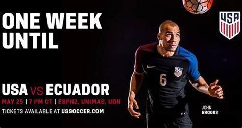 Resultado: Estados Unidos 1 0 Ecuador [Vídeo Gol