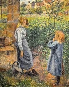 Camille Pissarro Woman and Child