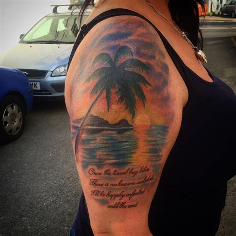 beach tattoo designs ideas design trends premium