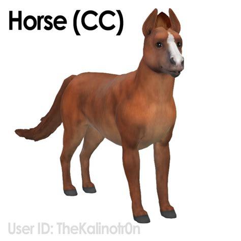 horse zebra  donkey  kalino sims  updates