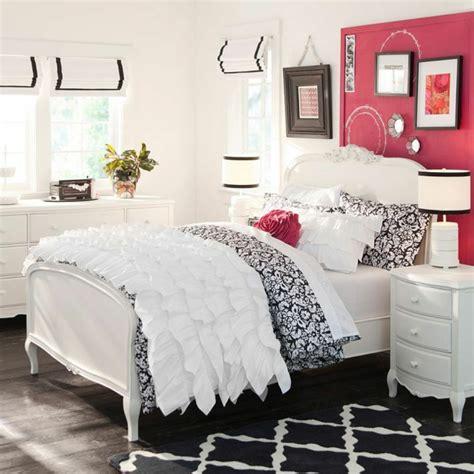 chambre ado fille noir et blanc chambre fille ado 30 idées de design magnifique