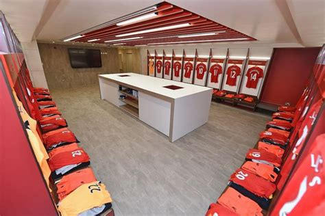 The club has won six european cups. Inside the new Liverpool dressing room - Reds revamp home ...