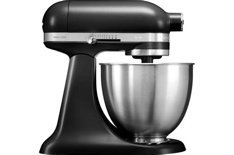 de cuisine kitchenaid patissier kitchenaid mini 5ksm3311xebm noir mat