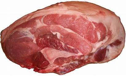Meat Pork Fresh Picnic Hams Transparent Clipart