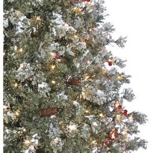 time pre lit 7 5 39 covington fir artificial tree clear lights best